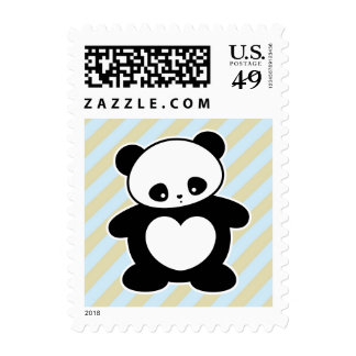 Panda de Kawaii Sellos