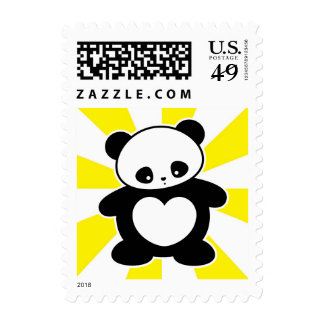 Panda de Kawaii Sello