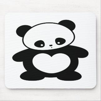Panda de Kawaii Alfombrilla De Raton