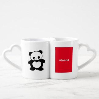 Panda de Kawaii Tazas Amorosas