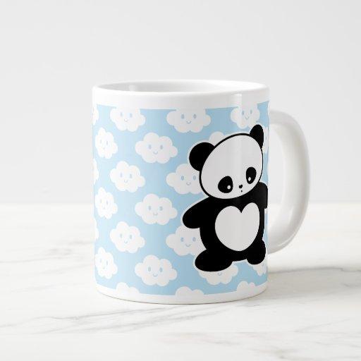 Panda de Kawaii Taza Grande