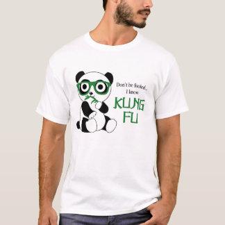 Panda de Kung Fu Playera