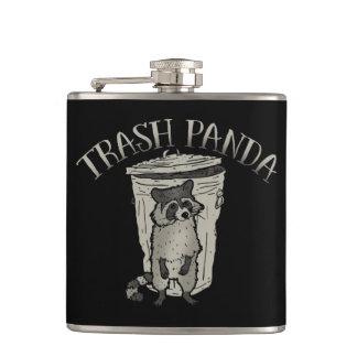 Panda de la basura del mapache petaca