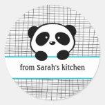 Panda de la cocina de pegatinas