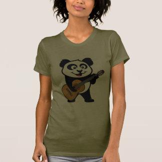 Panda de la guitarra camiseta