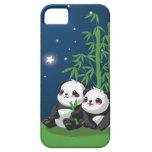 Panda de la noche de la estrella iPhone 5 Case-Mate cobertura