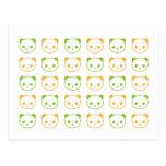 panda de la panda de la panda tarjetas postales