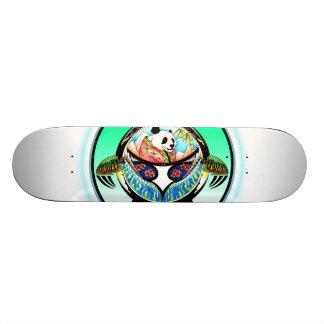 Panda de la tortuga tabla de skate