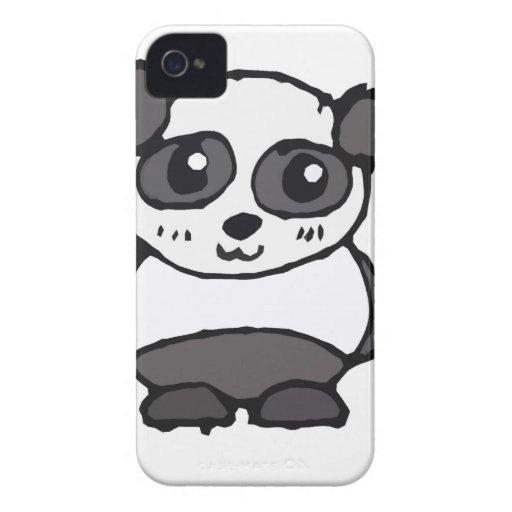 Panda de Lil Case-Mate iPhone 4 Cárcasas