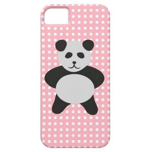 Panda de LIndo Osito iPhone 5 Cárcasas