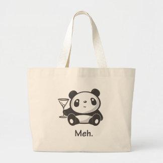 Panda de Meh Bolsa De Tela Grande