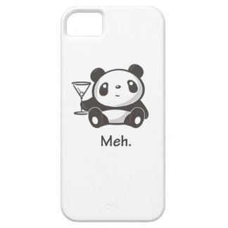 Panda de Meh iPhone 5 Funda