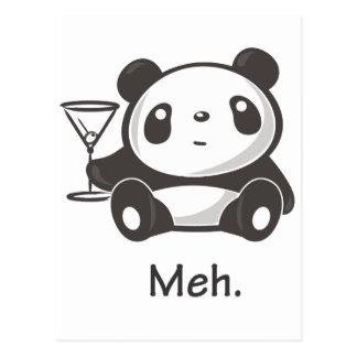 Panda de Meh Postales