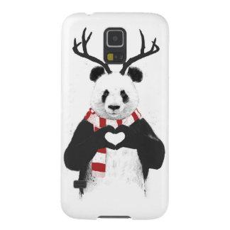 Panda de Navidad Carcasa Galaxy S5