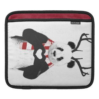 Panda de Navidad Fundas Para iPads