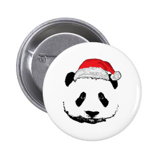 Panda de Navidad Pins