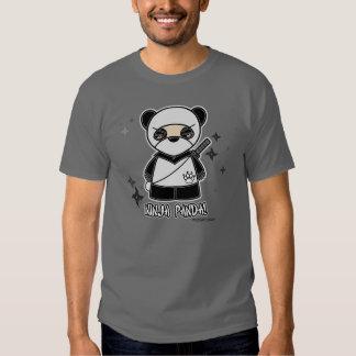 ¡Panda de Ninja! Camiseta Camisas