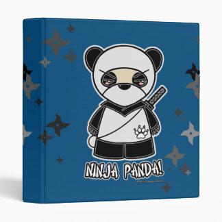¡Panda de Ninja! Con la carpeta de Shurikens
