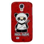 ¡Panda de Ninja! Rojo del caso del iPhone 3 de Nin