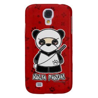 ¡Panda de Ninja! Rojo del caso del iPhone 3 de Nin Funda Para Galaxy S4