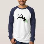 Panda. de reclinación camisas