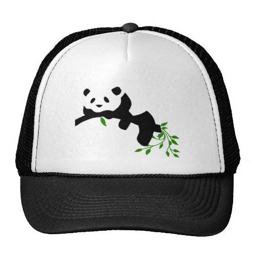 Panda. de reclinación gorro