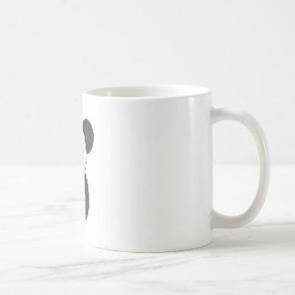 Panda de risa taza de café