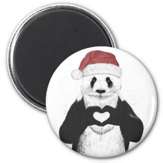 Panda de Santa Imán Redondo 5 Cm