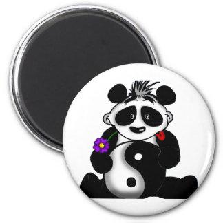 Panda de Tao Imán Redondo 5 Cm