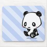 Panda de Weetle Alfombrillas De Ratones