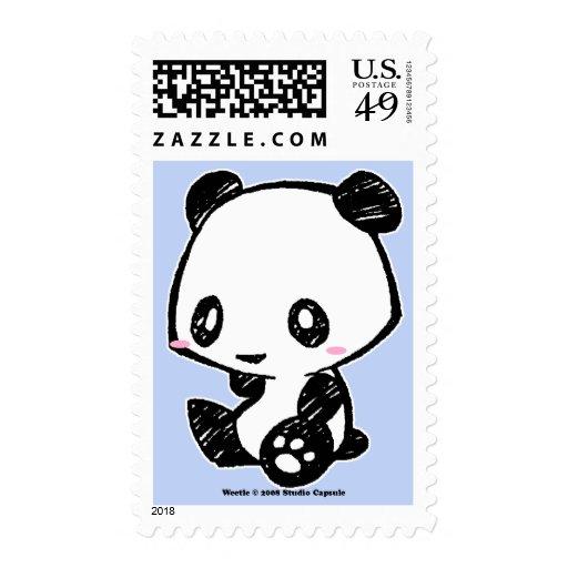 Panda de Weetle Sellos