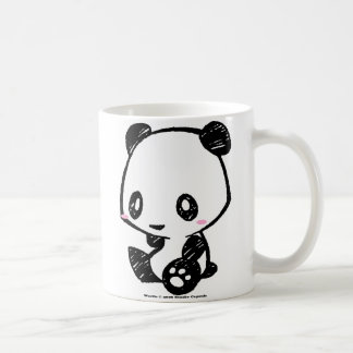 Panda de Weetle Taza Básica Blanca