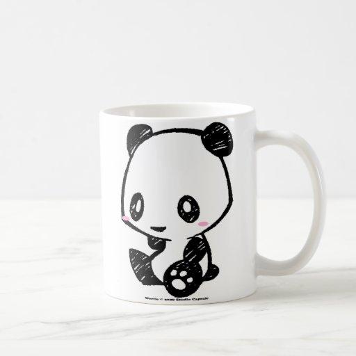 Panda de Weetle Tazas