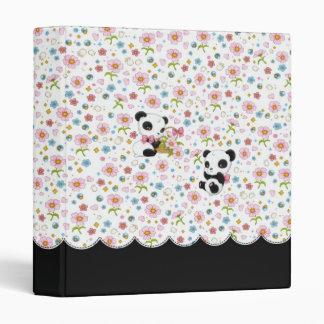 "Panda Dear 1"" binder (white)"