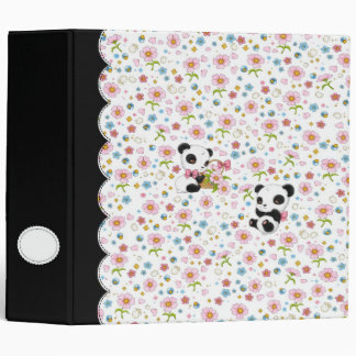 "Panda Dear 2"" binder (white)"