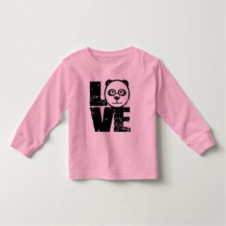 Panda del amor camisas