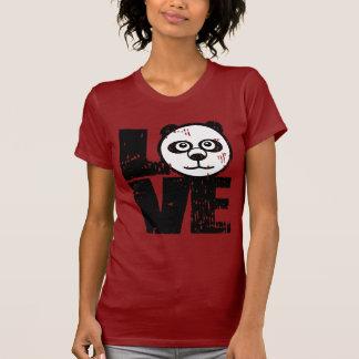 Panda del amor playera