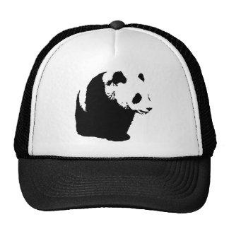 Panda del arte pop gorros bordados