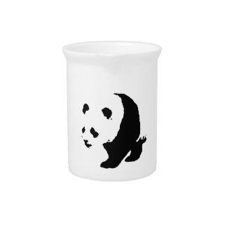 Panda del arte pop jarrón