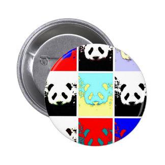 Panda del arte pop pin