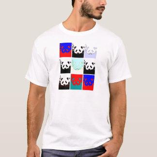 Panda del arte pop playera