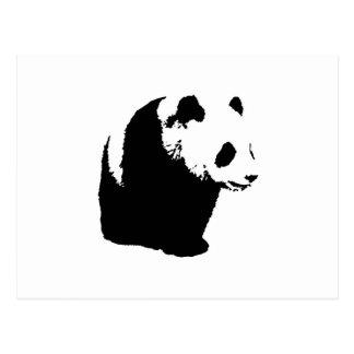 Panda del arte pop postales