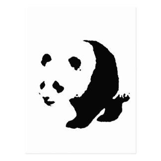 Panda del arte pop tarjetas postales