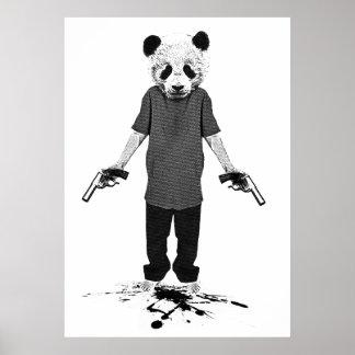 Panda del asesino impresiones
