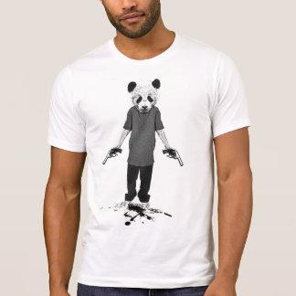 Panda del asesino remeras