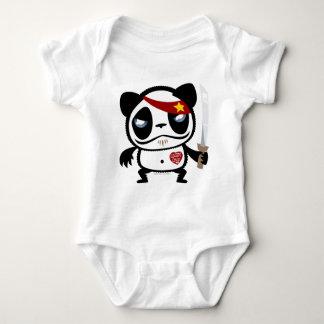 Panda del bandido body para bebé