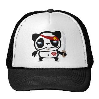 Panda del bandido gorras de camionero