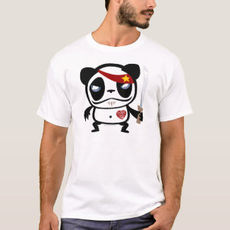 Panda del bandido playera