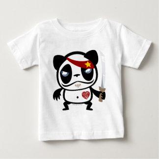 Panda del bandido playera de bebé