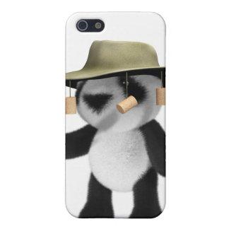 panda del bebé 3d en Australia iPhone 5 Protector